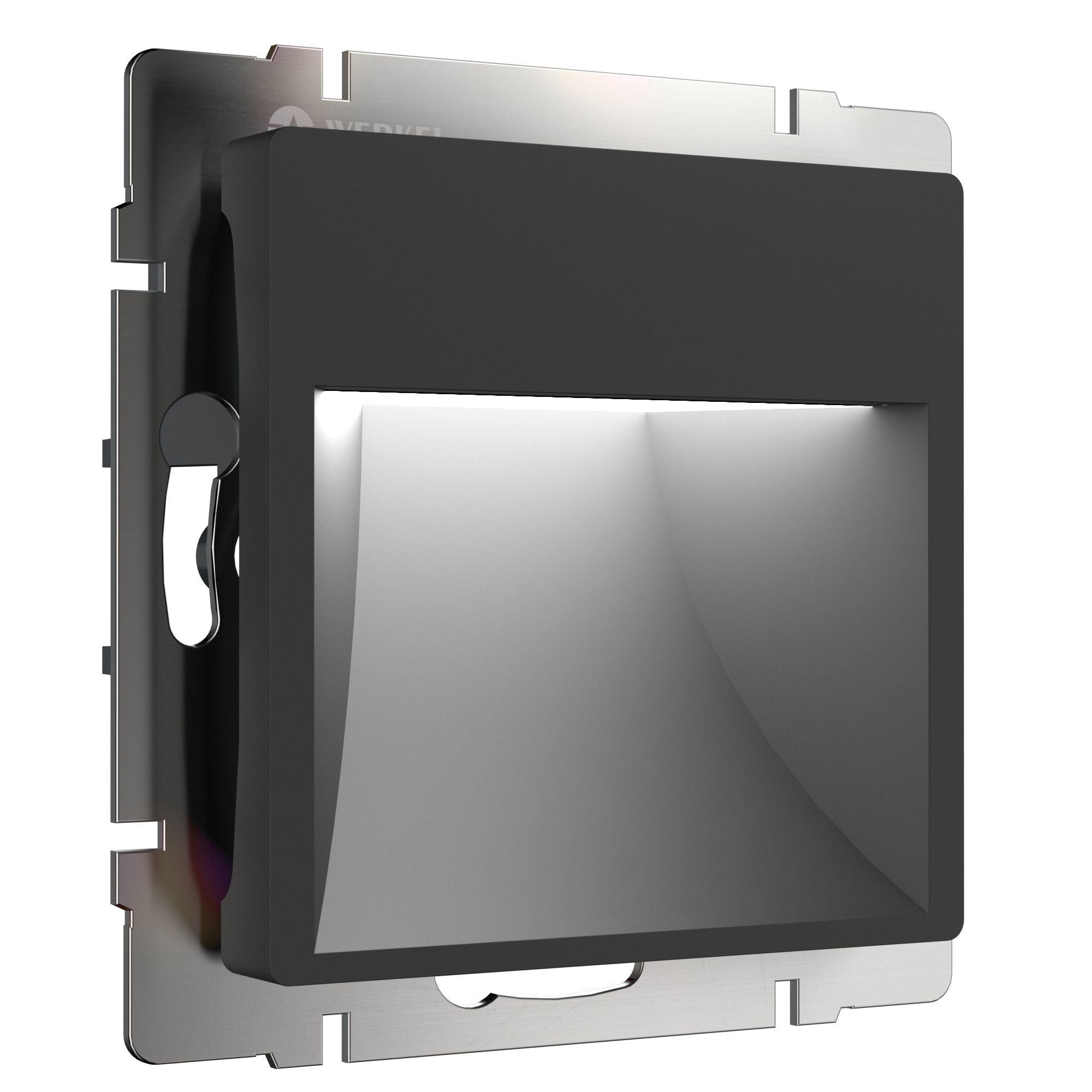 Встраиваемая LED подсветка (черный) WL08-BL-01-LED